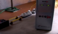 Lightning test after eca3G installation  in 15kV range